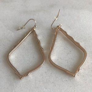 Kendra Scott Accessories - Kendra Scott Sophee Drop Earrings in Rose gold
